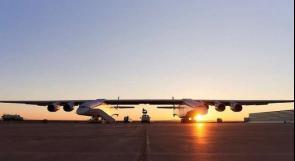 بالفيديو ..  أكبر طائرة في العالم تستعد لرحلتها الأولى