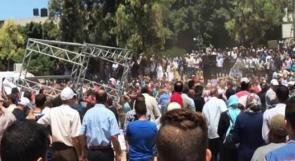 """المركز الفلسطيني لحقوق الإنسان يدين قمع الأمن في غزة """"تجمع رفع العقوبات"""""""