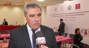 """الغلاييني لوطن : دعم بنك فلسطين لحملة """" كلنا سوا """" جزء من مسؤوليتنا المجتمعية لدعم كل القطاعات التنموية"""