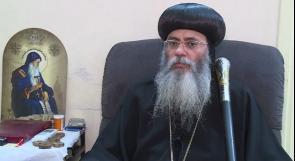 الأنبا أنطونيوس لوطن: الاحتلال أفرج عن الكاهن المعتقل بعد تدخل الحكومة المصرية