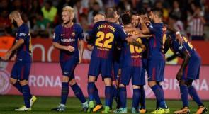 برشلونة يعود الى الصدارة