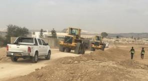 الاحتلال ينفذ اقتحامات مستمرة لقرية أم بطين في النقب