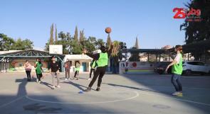لم تحصل على فرصة عمل فقررت التطوع.. المدربة ولاء الحموز وفريق كرة السلة الذي يطمح لتمثيل فلسطين عالميا