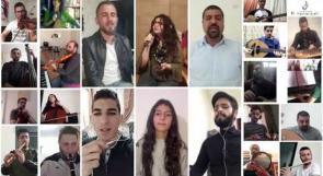 """الكمنجاتي تنتج أغنية """"حلم وتلال"""" تعبيراً عن تضامن الفلسطينيين مع جميع شعوب العالم"""
