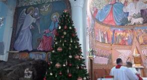 """خاص لـ """"وطن"""": بالفيديو.. غزة تتزين بشجرة الميلاد"""