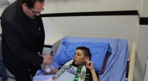 صيدم: الإهمال الطبي بحق الطفل التميمي يكشف الوجه البشع للاحتلال
