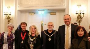 سفارة فلسطين لدى المملكة المتحدة تحيي اعلان الاستقلال