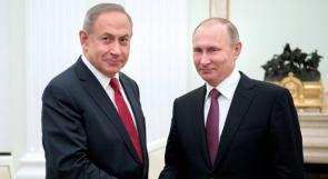 نتنياهو يضع بوتين في صورة عملية جيش الاحتلال على حدود لبنان