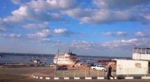 """خاص لـ""""وطن"""": بالفيديو.. ميناء غزة.. مرفأ لهموم الغزيين"""