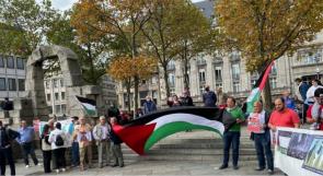 وقفة تضامنية مع الأسرى الفلسطينيين في مدينة ألمانية