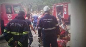 40 منزلاً في عين الحلوة جاهز لاستقبال المتضررين اللبنانيين من الحرائق