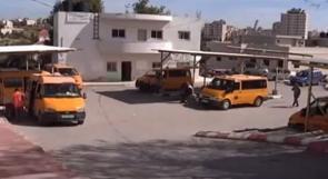"""خاص لـ""""وطن"""": بالفيديو.. دورا الخليل.. سائقون: مجمع المركبات بدون خدمات"""