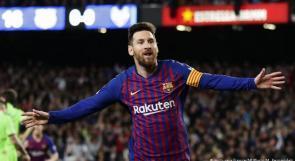ميسي يُعيد برشلونة للصدارة بخماسية ضد بلد الوليد