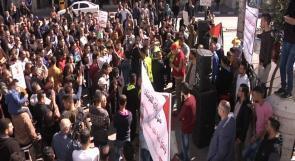 عمال الخليل لوطن: فعالياتنا ستتصاعد في حال استمرار تهميش مطالبنا