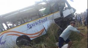 19 قتيلا على الأقل في سقوط حافلة من جسر في الفلبين
