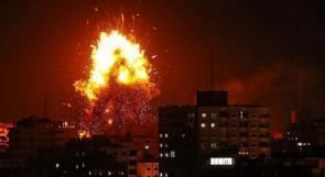 طيران الاحتلال يشن غارات على عدة أهداف بغزة