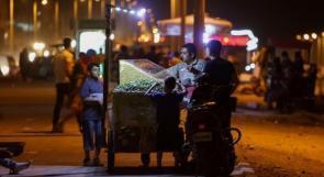 شارع الرّشيد في غزة.. لا يعرف النّوم