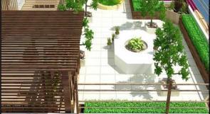 """خاص لـ """"وطن"""": بالفيديو.. غزة: عطا الله تبدع بتحويل ساحات البيوت المهملة لحدائق منزلية"""