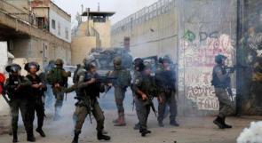 اصابة شاب واعتقال اخرين خلال مواجهات في مخيم الدهيشة