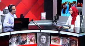 """""""شغف"""" الفنانة جنان ريان بالفن.. من الرسم والزخرفة إلى فن البورتريه والديجتال"""