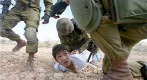 (فيديو).. الطفل اسلام التميمي في غرفة التحقيق الاسرائيلية