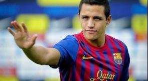 أليكسيس يعود إلى تدريبات برشلونة استعدادا لنهائي كأس الملك