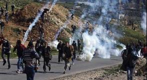 إصابة عدد من المواطنين بمواجهات مع الاحتلال في الخليل