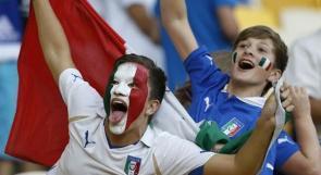 بالصور.. يورو 2012 يزداد اثارة بعد تأهل ايطاليا للنصف النهائي