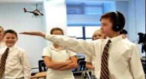 ابتكار طائرة مروحية تقاد بالموجات الدماغية
