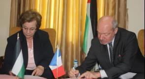 """رام الله.. توقيع اتفاقية لتنفيذ امتحان """"الدلف"""" في اللغة الفرنسية"""
