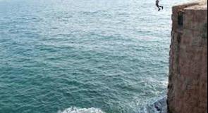 إصابات خطيرة لـ 3  شبان قفزوا إلى  البحر عن أسوار عكا
