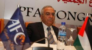 الرجوب يفوز بولاية ثانية لرئاسة اتحاد الكرة ونائبه من حماس
