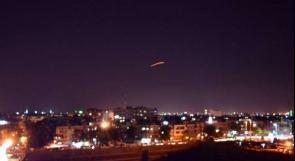 الدفاعات الجوية السورية تتصدى لعدوان إسرائيلي جديد استهدف محيط مطار دمشق