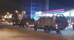 مجدداً..جيش الاحتلال يقتحم البالوع ويستهدف محطة محروقات