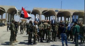 الجيش السوري يؤمن طريق دمشق عمان الدولي