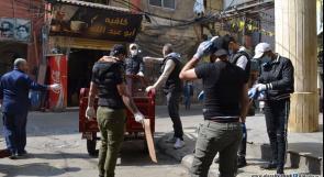"""""""الديمقراطية"""": تدعو لإعلان التعبئة الشاملة في مخيمات لبنان لمحاصرة وباء كورونا ومنع انتشاره بين السكان"""