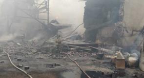 مقتل 15 شخصاً بحريق مصنع متفجرات في روسيا