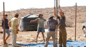 مستوطنون يشرعون بأعمال بناء في محيط نبع عين الحلوة بالأغوار الشمالية