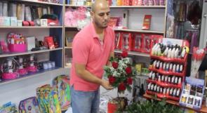 """خاص لـ""""وطن"""": بالفيديو... قلقيلية: 22% نسبة البطالة وشريم يسعى للتغلب عليها ببيع الزهور"""