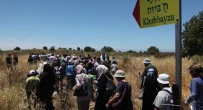 """فيديو  الآلاف يحيون ذكرى النكبة ال71 بمسيرة نحو قرية """"خبيزة"""" المهجرة"""