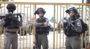 طلبة جامعة فلسطين التقنية خضوري - فرع العروب يواجهون قرار الاحتلال بإغلاق الجامعة