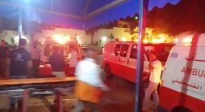"""(محدث) ست إصابات في مواجهات مع جيش الاحتلال في بلدة """"عزون"""""""