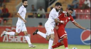 منتخبنا يواجه منتخب لبنان غدا في بطولة غرب آسيا
