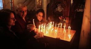 مسيحيو غزة يحتفلون بعيد الميلاد