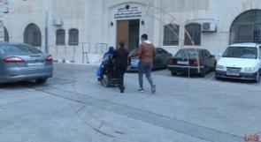وطن تتابع ملف ذوي الاعاقة المعتصمين داخل مقر المجلس التشريعي