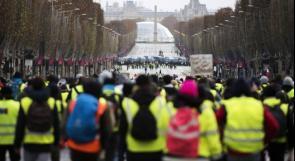 """الحكومة الفرنسية تعتقل 4 آلاف شخص باحتجاجات """"السترات الصفراء"""""""