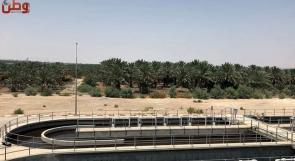 في أريحا.. أكبر محطة معالجة مياه عادمة تنقي ألف طن يوميا