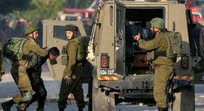 الاحتلال يعتقل 9 مواطنين من جنين وبيت لحم