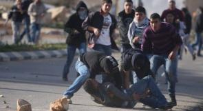إصابة شاب بمواجهات مع الاحتلال في الخليل