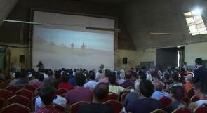 """خاص لـ""""وطن"""" بالفيديو .. غزة تحيي أقدم دار للسينما بعد ثلاثين سنة من الإغلاق"""
